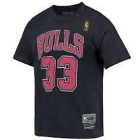 Scottie Pippen Chicago Bulls Mitchell & Ness NBA Player Vintage Oversized T-Shir