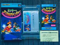 Mickey no Magical Adventure Super Famicom SFC SNES Nintendo Japan Box Manual CIB