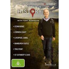 Walking Through History : Series 2 (DVD, 2014, 2-Disc Set) BRAND NEW SEALED
