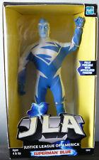 """1999 MIB JLA Superman Blue  9"""""""
