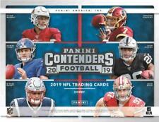 2019 Panini Contenders Football Hobby Box (18 Packs/6 Cards: 5 Autos)