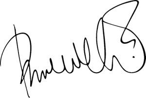 Paul Weller signature decal sticker 150mm mod scooter jam style council