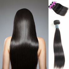 "10"" 100% Virgin Human Hair 9A STRAIGHT Weave Extensions Unprocessed 1Bundle 100G"