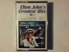 ELTON JOHN 'S greatest hits vol. 1 mc cassette k7 ITALY COME NUOVA LIKE NEW!!!