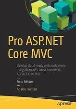 NEW Pro ASP.NET Core MVC by ADAM FREEMAN