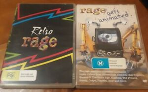 Retro Rage/Rage gets animated (DVD) PAL Double Pack