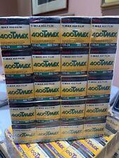 Kodak TMAX-400 ISO 400 Professional B&W Film. Expired 04/2006 case of 20 wrapped