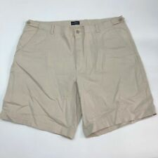 Dockers Golf Shorts Mens 40 Tan Flat Front Relaxed Fit Stretch Slash Pockets