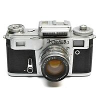KIEV III (CONTAX) CAMERA WITH JUPITER 8M 50mm f/2 LENS c. 1948-58