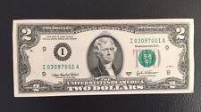 USA 2 DOLLARS 2003 Banknote! UNC, CRISP MINT BILL
