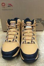 New Brown ANTA OUTDOOR hiking Shoes Sz 13 Black Olympics Basketball NBA A-WARM
