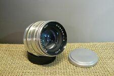 JUPITER - 8  F2 /50mm Russian lens M39 for RF camera (# 192)