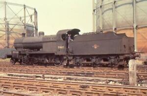 35mm Railway Slide (Colour-Rail SD262) BR Steam Loco 53805 Bath Green Park 1958