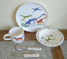 Emma Bridgewater Dinosaur Set, Plate, Bowl, Mug, Cutlery