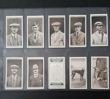 Cigarette Cards - Ogdens - Greyhound Racing (2nd Series) - Full Set - ***VG***