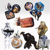 STAR WARS - Official BALLOONS (Foil) Range of Sizes/Characters (Birthday Party)