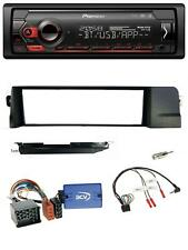 Pioneer Lenkrad USB DAB Bluetooth Autoradio für BMW 3er E46 98-07 Profi Rundpin