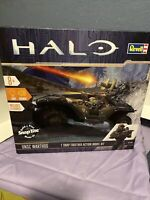 REVELL HALO UNSC WARTHOG MODEL KIT WITH LIGHT & SOUNDS!   NEW SEALED PACKAGE!