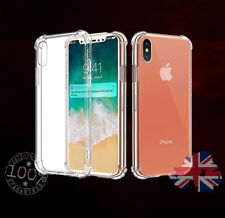 Clear Slim iPhone X 10 Hard Case Silicone Hybrid Shockproof Protective Cover