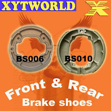 Front Rear Brake Shoes for Yamaha Bl125 BL 125 Beluga 1985