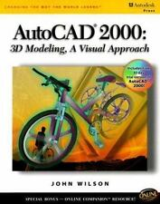 AutoCAD 2000:  3D Modeling,: A Visual Approach