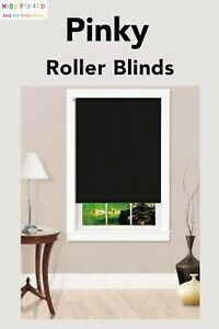 100% Blackout Roller Blinds Roller Shade Size (60-300)x210/280cm Drill Free