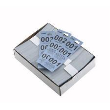 Winco Cck-5Bl, Blue Coat Check Tags, 500/Cs