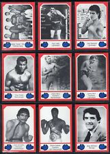 1987 Brown's Boxing 30 Card Complete Set Series 4