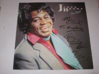 JAMES BROWN Autogramm LP signiert I'M REAL signed AUTOGRAPH InPERSON