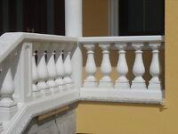 Balustraden Höhe 81 cm. Balustrade Baluster Säulengeländer Geländer
