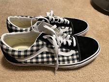 NWOB Mens Vans Old Skool sneakers 750515 Black white size 12 NO RESERVE