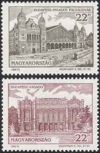 Hungary 1995 EXPO '96/Railway Station/Rail/Buildings/Architecture/Tram 2v n45646