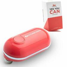Kitchen Mama Mini Electric Can Opener: Open Cans with A Simple Push of Button -