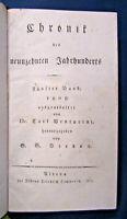 Venturini Chronik des 19. Jahrhunderts 5. Band 1811 Geschichte Gesellschaft sf