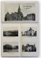 Prospekt Naumburg an der Saale um 1930 Landeskunde Geografie Ortskunde xy