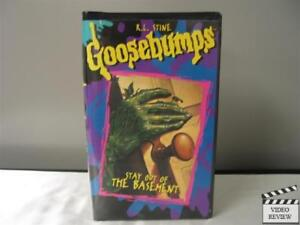 Goosebumps - Stay Out of the Basement (VHS, 1996) R.L. Stine