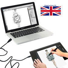 Huion H610 Pro Art Graphics Drawing Tablet 10x6.25 + Rechargeable Digital Pen UK