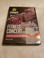 ZUMBA FITNESS CONCERT LIVE 2015 DVD + CD New