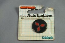 MITSUBISHI Gear Knob Key Fob Auto Car Emblem - Self Adhesive - Old Stock