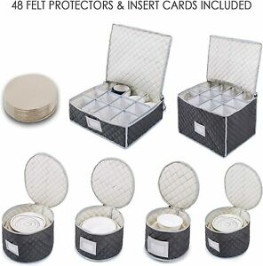 Complete Dinnerware Storage Set #1 Best Protection for Storing