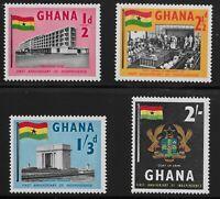 Ghana Scott #17-20, Singles 1958 Complete Set FVF MNH