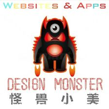 【DESIGN MONSTER】Professional Websites & Apps