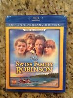 Swiss Family Robinson (Blu Ray,1960,Disney Exclusive,55th Anniv)New Authentic US
