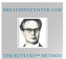NEW Buteyko Breathing Exercises & Method (Audio CD)