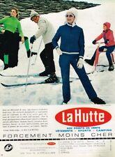 K- Publicité Advertising 1968 Pret à porter vetement de ski La Hutte