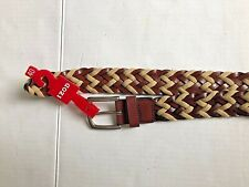 NWT Izod Mens Size 40 leather Belt Brand new