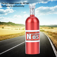 Aluminum Alloy NOS Nitrous Oxide Bottle Canister for 1/10 Traxxas Axial RC Car