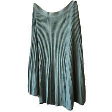 Celine Phoebe Philo Wool Pleated Skirt