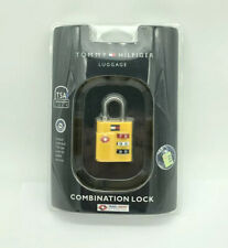Tommy Hilfiger Luggage Combination Lock Style TA000CL5 Yellow