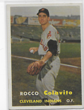 Rocco  Colavito  Rookie Card 1957 Topps  #212 Mint